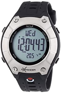 Sector Sports Watch R3251174215 In Collection Outdoor Digital with Grey Dial and Strap