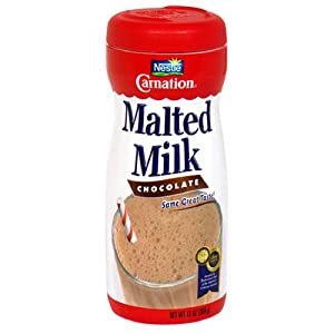 Carnation, Malted Milk, Chocolate Flavored, 13oz Container (Pack of 3)