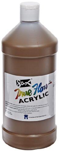 Sax True Flow Medium Bodied Acrylic Paint - Quart - Raw Sienna