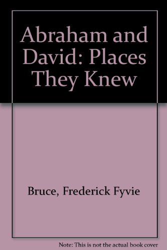 Image for Abraham and David: Places They Knew