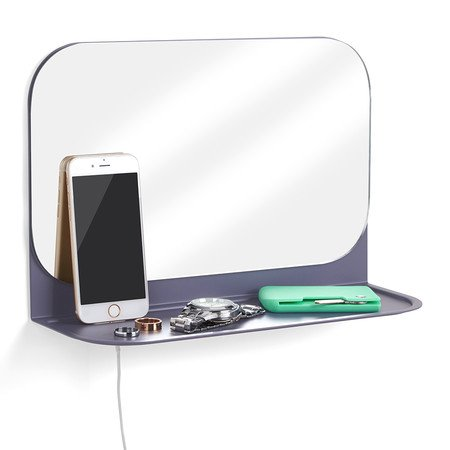 Umbra Pose Wandbord und Spiegel - Indigo