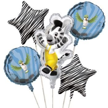 Zou Balloon Cluster (5) Party Supplies