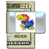 Kansas Jayhawks Large Money Clip/Card Holder - NCAA College Athletics Fan Shop Sports Team Merchandi...