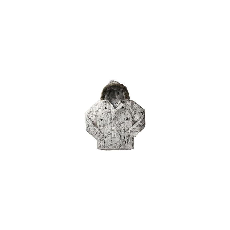Fox Racing KGB Jacket   Medium/White