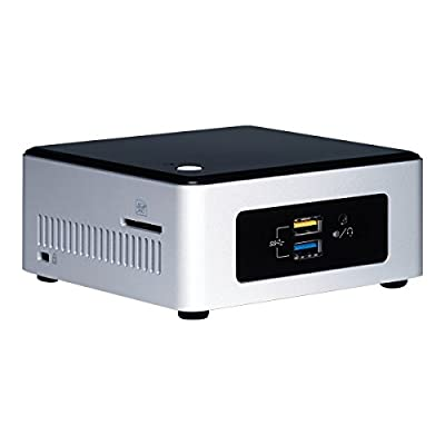 Intel BOXNUC5PPYH - Next Unit of Computing Mini PC Fully Loaded (Pentium Quad Core N3700 upto 2.4Ghz, 4GBLRam,...