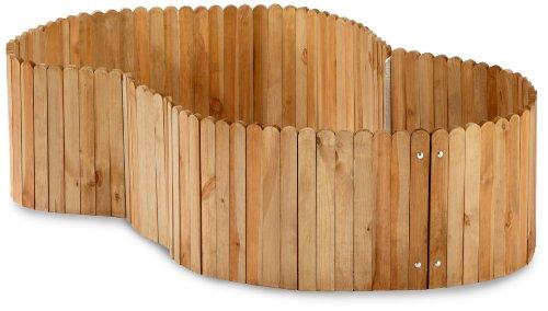 hochbeet mit rollen und kunststoffwanne inkl wasserablauf. Black Bedroom Furniture Sets. Home Design Ideas