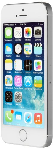 Apple iPhone 5S Smartphone 16GB (10,2 cm (4 Zoll) IPS Retina-Touchscreen, 8 Megapixel Kamera, iOS 7) Silber