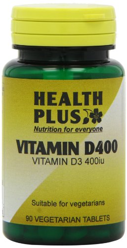 Health Plus Vitamin D 400iu Vitamin D Supplement - 90 Tablets