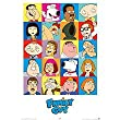 Family Guy Poster 24X36 Town Cast Characters 24882