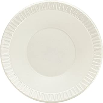 SOLO 12BWWC Concorde Non-Laminated Polystyrene Foam Bowl, 12 oz.  Capacity, White (Case of 1,000)