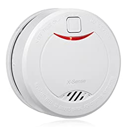 X-Sense DS32 10-Year Extended Battery Life Smoke Detector Fire Alarm with Photoelectric Sensor
