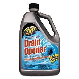 Zpe ZUPRDO128 Professional Strength Drain Opener, 1 Gal Bottle