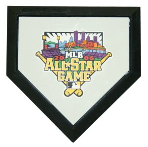 2006 MLB All Star Game Authentic Hollywood Pocket Home Plate
