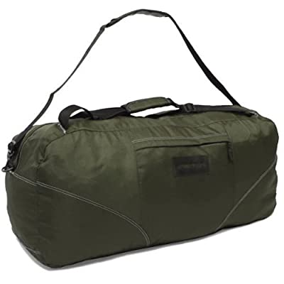 Members Foldable 104 Litres Cargo Backpack Holdall (Khaki) by Karabar