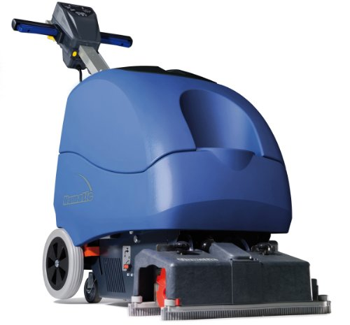 """Nacecare Ttq3035 Automatic Electric Cylindrical Floor Scrubber, 15"""" Brush, 1200 Rpm, 8 Gallon Capacity, 1.6Hp, 65' Power Cord Length front-169360"""