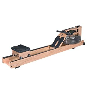 WaterRower Oxbridge Rowing Machine in Cherry with S4 Monitor