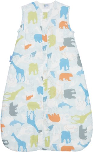Grobag Safari So Good 2.5 Tog Baby Sleeping Bag for 0 - 6 Months