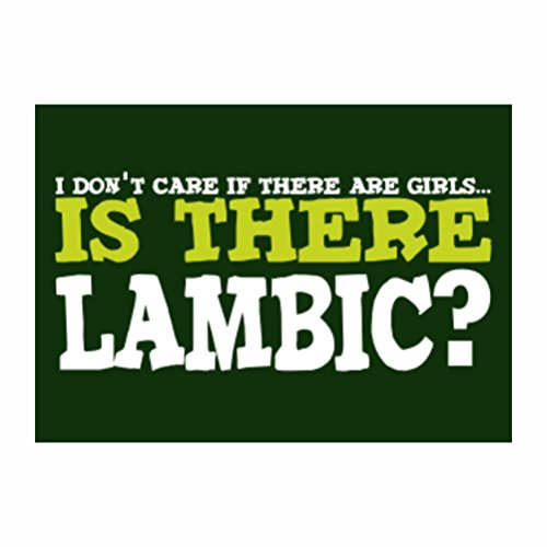 teeburon-i-dont-care-if-there-are-girls-is-there-lambic-sticker-pacchetto-di-4