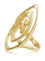 Córdoba Jewels Anillo (plata de ley 925 milésimas bañada en oro)
