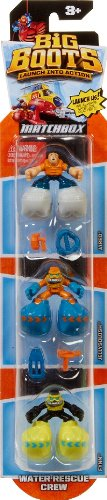 Matchbox - Big Boots - Water Rescue Crew - Mattel