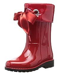 Igor Kid\'s Campera Charol Rojo Synthetic Rain Boot 31 M EU/13 M US Little Kid