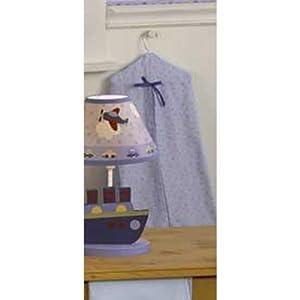 Lambs and Ivy - Bolsa guarda pañales, diseño con estrellas en BebeHogar.com