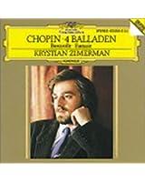 Chopin : 4 Ballades - Barcarolle - Fantaisie