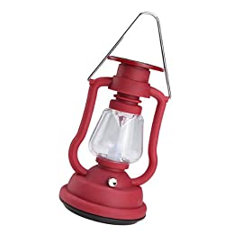 Solar Cells Panel Lantern Camp Outdoor Hand Crank 7 LED Bright Light Lamp