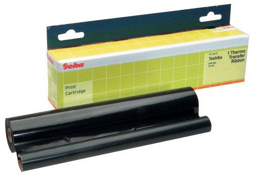 Rouleau transfert thermique Geha pour TOSHIBA TFP100/TF471, noir, TF421/TF428/TF451/TF451M capaci...