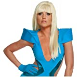 Lady Gaga Straight Wig with Bangs Costume Accessory
