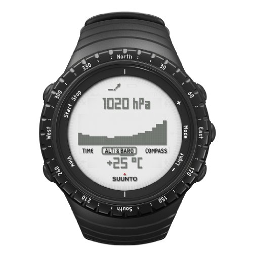 Suunto Core Sportuhr Regular Black, SS014809000