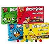 Angry Birds Gummies Combo Case (3.5 oz 12 Count Theater Candy #ANGRYB12