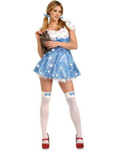 Dorothy Adult Sequin Small Adult Womens Costume