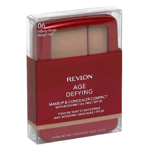 Buy Revlon Age Defying Makeup & Concealer Compact with Botafirm, SPF 20, Honey Beige 06, 0.4 oz (11.3 g)