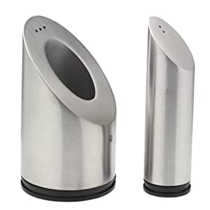 WMF Two-in-One Stainless Steel Salt & Pepper Cylinder