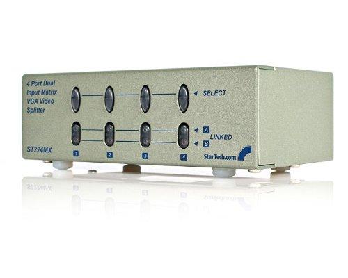 StarTech.com 2x4 High Resolution Matrix VGA Video Switch