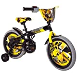 Transformers Boy's 16-Inch Bumble Bee Bike, Black/Yellow/Grey