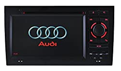 See Generic 7.0 Inch Auto DVD Car GPS Navigation Radio for Audi A4 2002 2003 2004 2005 2006 2007 2008 with Car EntertaInch ment System SteerInch g Wheel Control Details