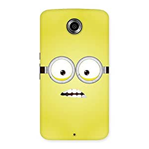 Stylish Yellows Fun Back Case Cover for Nexsus 6