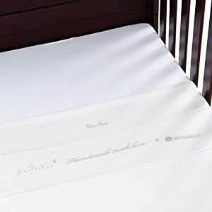 White Flannelette Pu Waterproof Mattress Protector : Non Noisy (crinkle Free). 100% Cotton Cot Bed Size 70 X 140 Cm