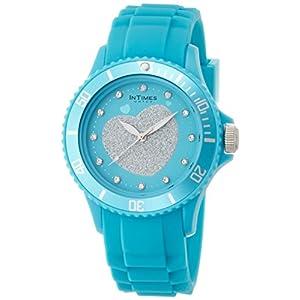 [インタイムス]INTIMES 腕時計 シチズンムーブ搭載 スワロフスキーエレメンツ ブルー IT043-BL レディース 【正規輸入品】
