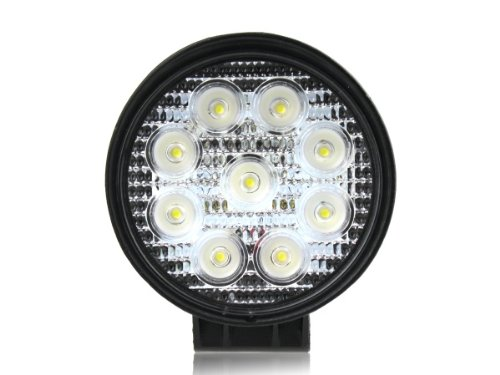 27W DC 12V 24V LED Flood Work LAMP Off Road Floodlight