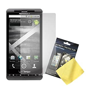 Cbus Wireless 3x LCD Screen Guards / Protectors / Film for Motorola Droid X / MB810 / Droid X2 / MB870