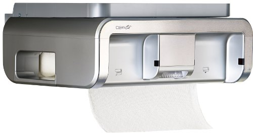 Clean Cut Touchless Paper Towel Dispenser, Stainless Finish
