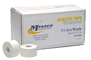 Athletic Tape MFASCO 11 2 x 15Yd 32 case by Mueller