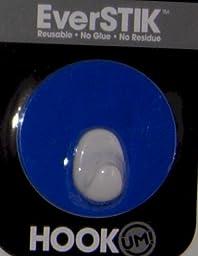 Um Brands Hook UM Essential Reusable Hook Kitchen Bathroom Garage, Round, Blue (500-573/Blue) by Um Brands