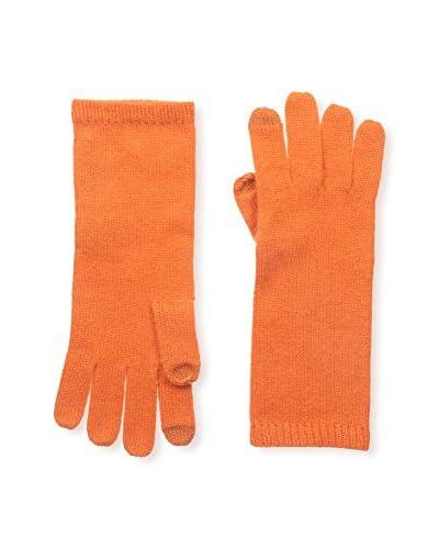 Sofia Cashmere Women's Smartphone Glove, Orange
