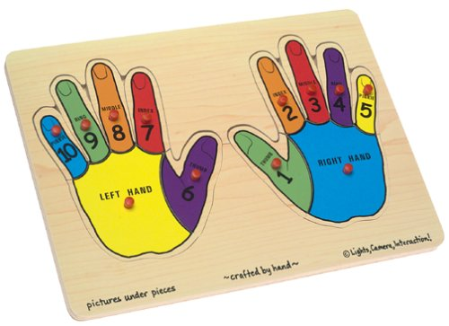 Melissa & Doug Hands Counting Peg
