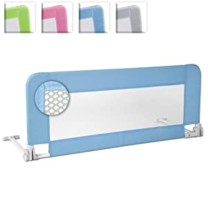 Infantastic® KDBG01 Bed Guard approx. width 3 ft / 102 cm DIFFERENT COLOURS (Blue)