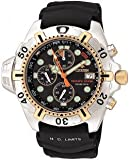 CITIZEN Watch:Citizen Men's BJ2004-08E Eco-Drive Aqualand Two-Tone Black Rubber Strap Dive Watch